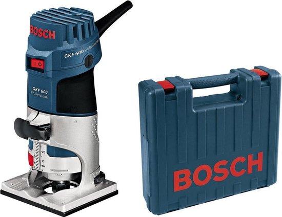 Bosch GKF 600 kantenfrees in koffer - 600W - 6-8mm