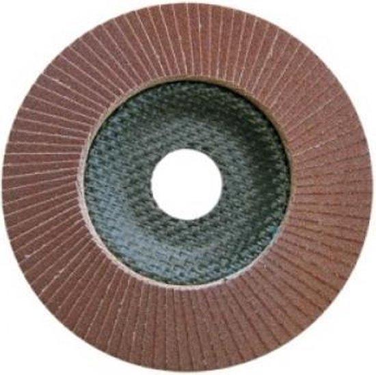 10st x Lamellenschijf staal 125mm conische P40 ''Specialist+'' Basic