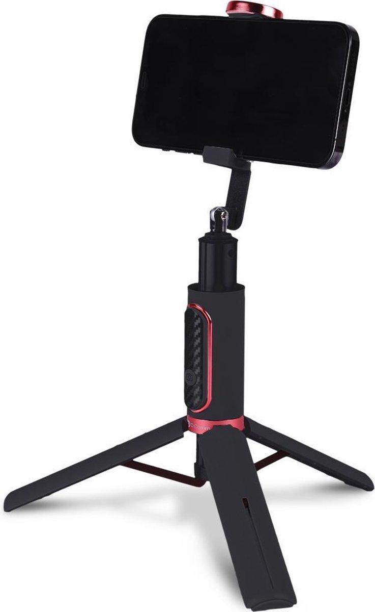 2 in 1 Statief Smartphone -  Tripod Smartphone - Selfiestick - 360 graden - Bluetooth afstandsbedien