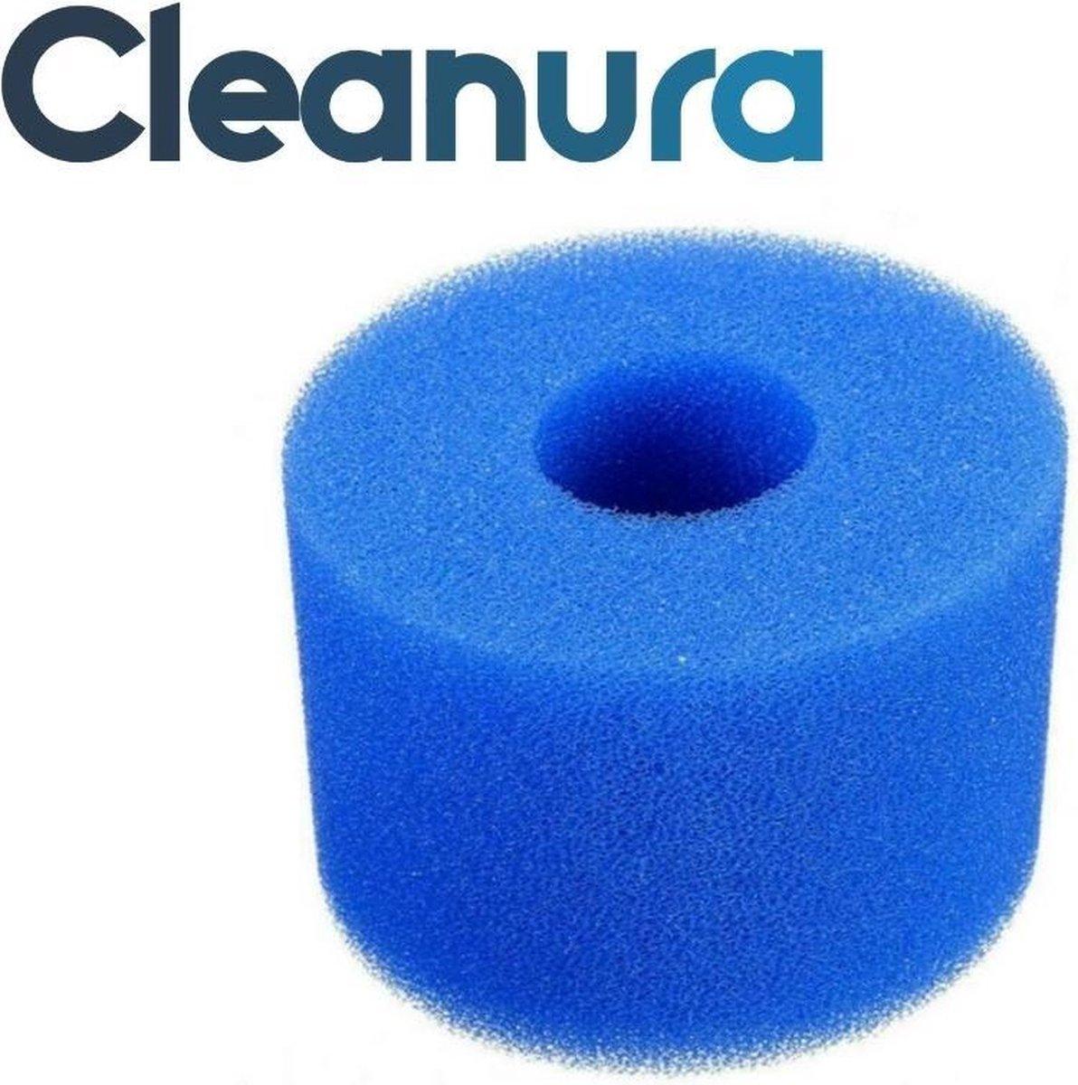 Cleanura 3 x Filter Type S1 of VI - zwembad filter - Herbruikbaar - spons filter - zwembadfilter - incl E-book