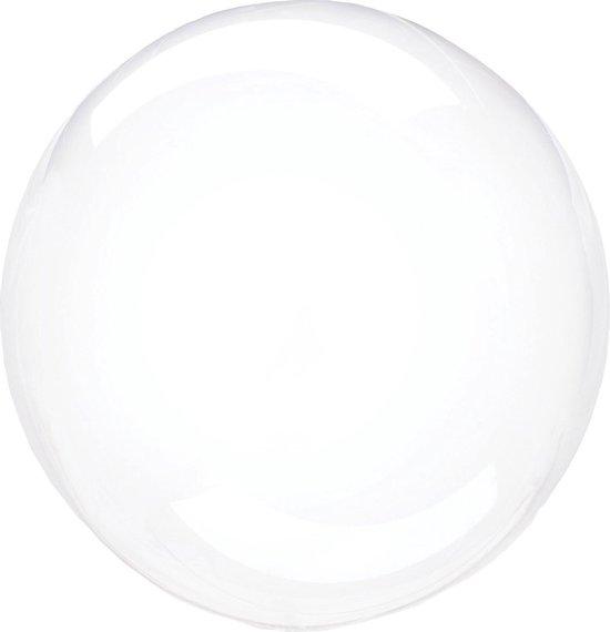Anagram Folieballon Clearz Petite Crystal 30 Cm Transparant Wit