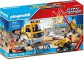 PLAYMOBIL City Action Bouwplaats met kiepwagen - 70742