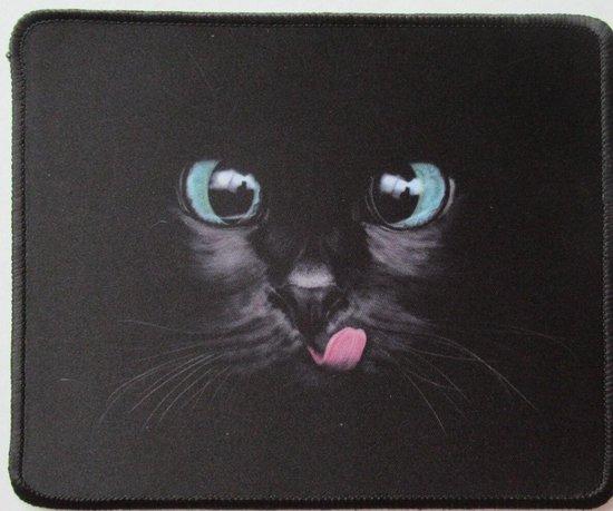 Kattenhebbedingen - Muismat - Kat - poes - Voor de kattenliefhebber - zwarte kat