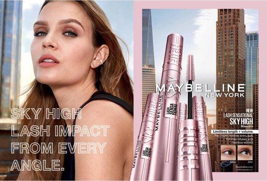 Maybelline New York - Lash Sensational Sky High - Very Black - Zwart - Lengte Mascara - 9,6ml - Maybelline