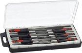 Blanko - 6-delige naaldvijlenset, kunststof handvat 195 mm
