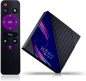 Lipa H96 Mini V8 Tv Box 2/16 GB Android 10 -Mediaplayer Met Kodi, Netflix en Playstore-4K decoder / Apps via Playstore en internet / Wifi en ethernet / Dolby geluid / Met Kodi, Netflix, Disney+ en meer