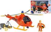 Brandweerman Sam Helikopter Wallaby inclusief figuur