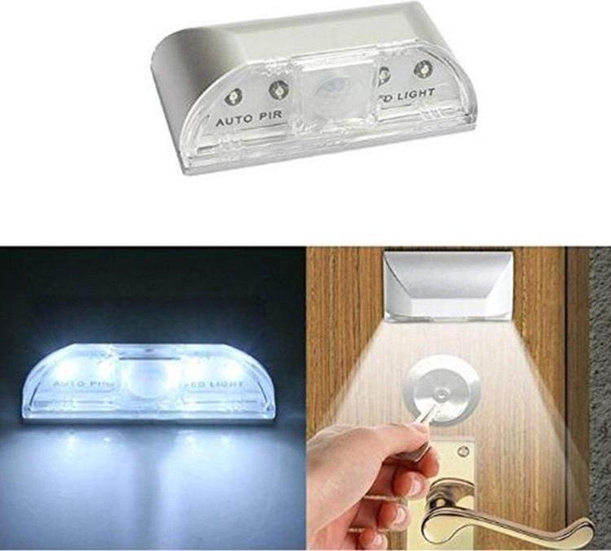 direct-ledverlichting Intelligente deurverlichting Infrarood sensorlicht van het menselijk lichaam
