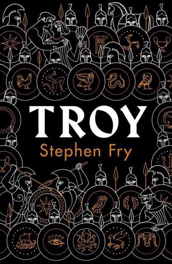 Boek cover Troy van Stephen Fry (Hardcover)