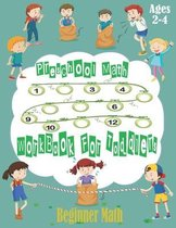 Preschool Math Workbook for Toddlers Ages 2-4 Beginner Math: Number Tracing, Addition and Subtraction (Math Activity Book).