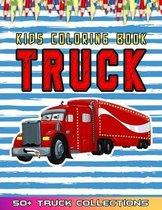 Truck Kids Coloring Book