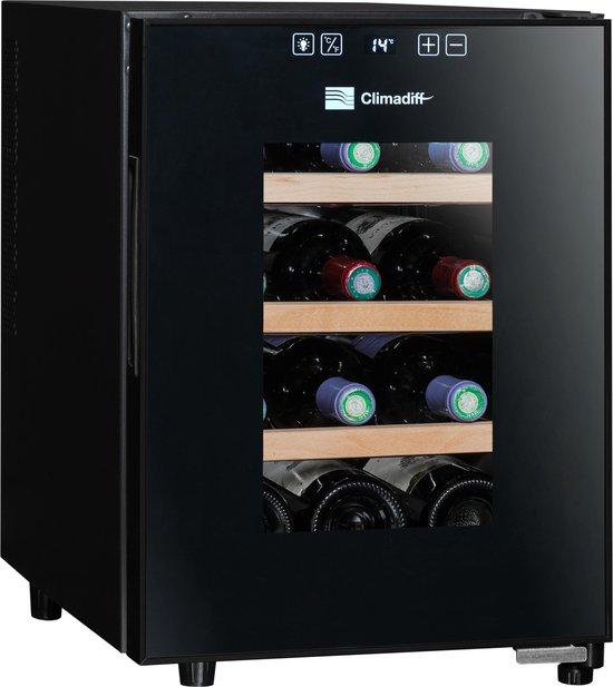 Climadiff CC12 - Wijnklimaatkast - Hybrid - 12 flessen