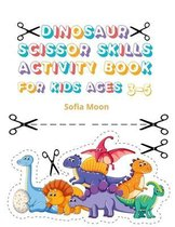 Dinosaur Scissor Skills Activity Book for Kids Ages 3-5