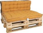 MaxxGarden Palletkussen - rugkussen loungeset bank - palletsofa - 120x40cm Geel