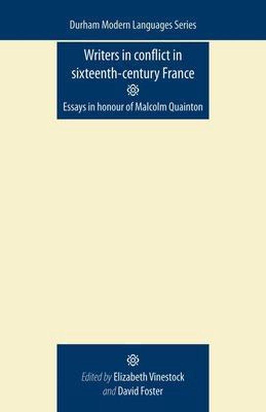 Boek cover Writers in Conflict in Sixteenth-Century France van  (Paperback)