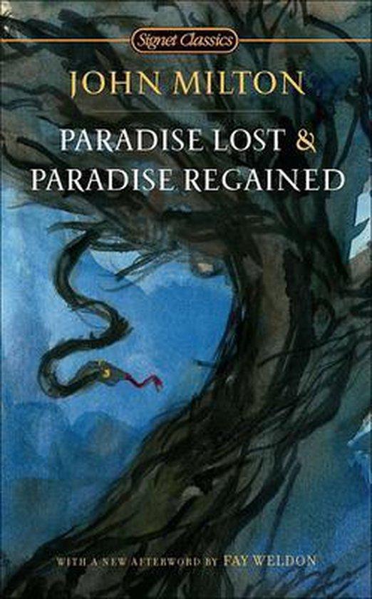 Boek cover Paradise Lost & Paradise Regained van Professor John Milton (Hardcover)