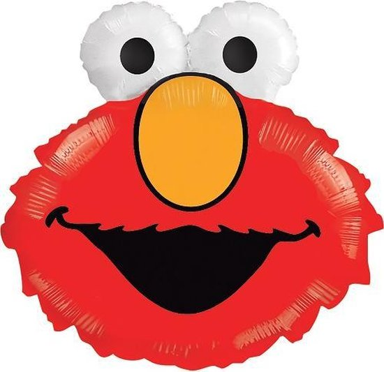 Folieballon Sesamstraat Elmo 51cm