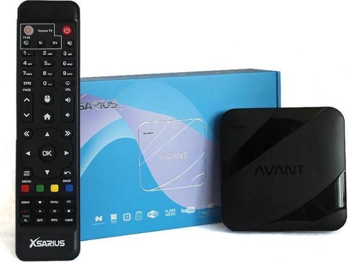 Xsarius Avant – 4K – Android – IPTV – Set Top Box