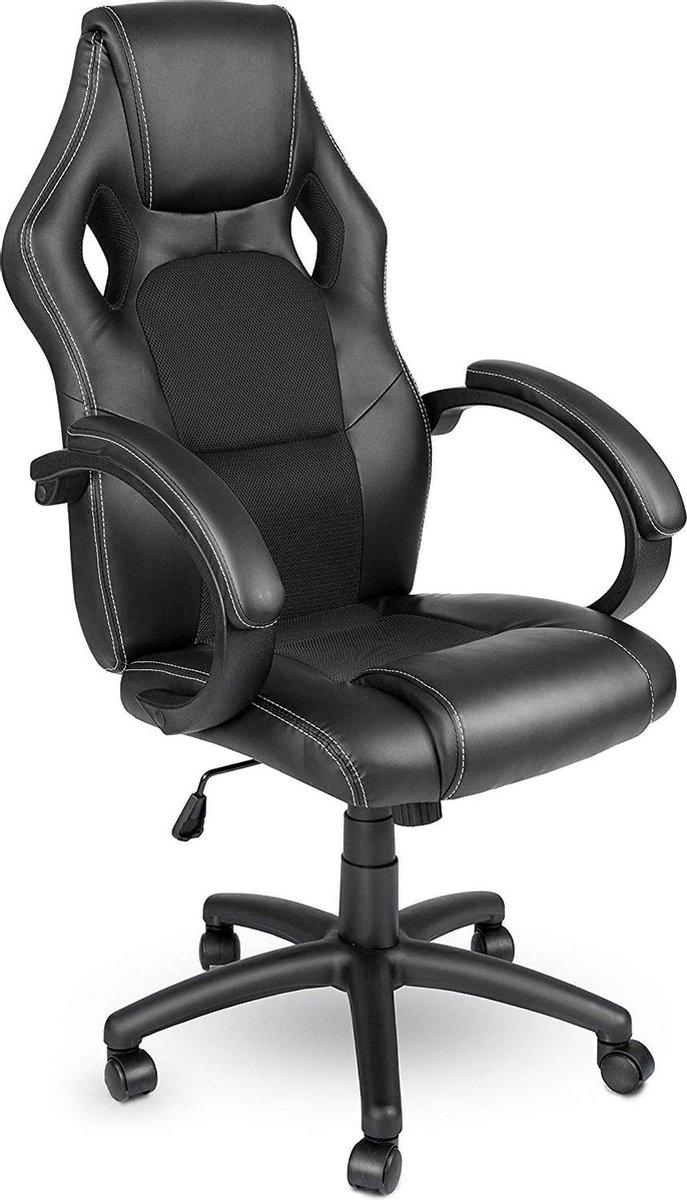 Sens Design Premium Gaming Chair   Game stoel   Bureaustoel - Zwart