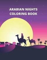 Arabian Nights Coloring Book