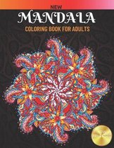 New Mandala Coloring Book For Adults