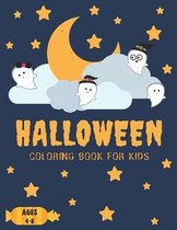 Halloween Coloring Books For Kids Ages 4-8