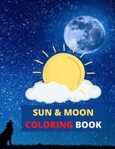 Sun and Moon Coloring Book