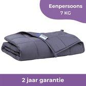 Nevali® Verzwaringsdeken 7 kg - Te gebruiken met je eigen dekbedovertrek - Verzwaarde Deken - Weighted Blanket - Zware Deken - Inclusief 2 jaar garantie - 140 bij 200 cm