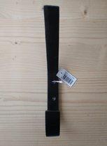"handdoekhaak/kapstokhaak nr. 70599 | ""Basildon"" (large) haak | zwart"