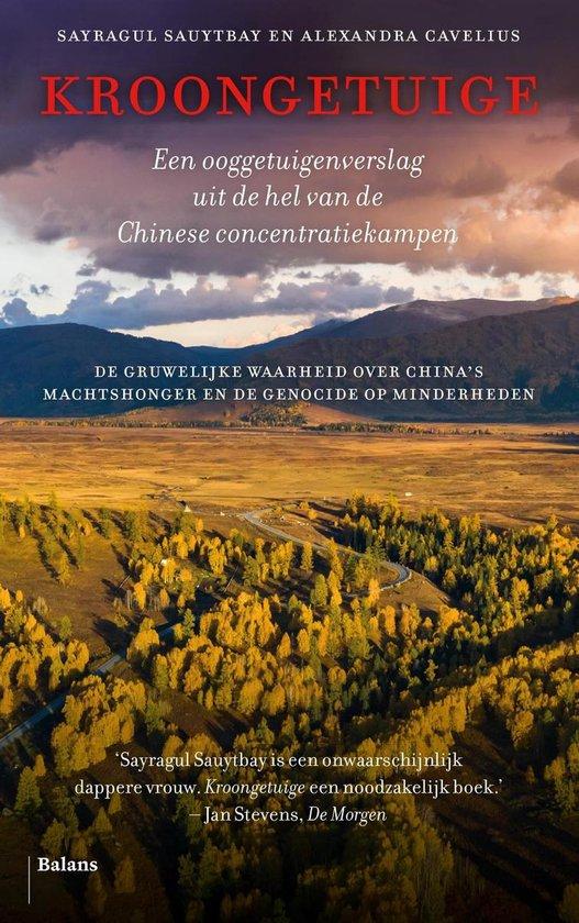 Boek cover Kroongetuige van Sayragul Sauytbay (Onbekend)