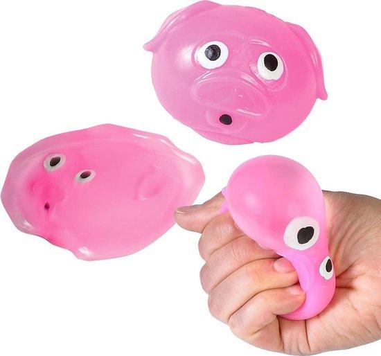 Afbeelding van het spel Sticky Balls Varken - 1 exemplaar - Splat Ball fidget toys