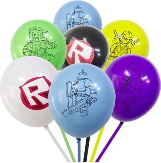 ProductGoods - 10x Roblox Ballonnen Verjaardag - Verjaardag Kinderen - Ballonnen - Ballonnen Verjaardag - Roblox- Kinderfeestje