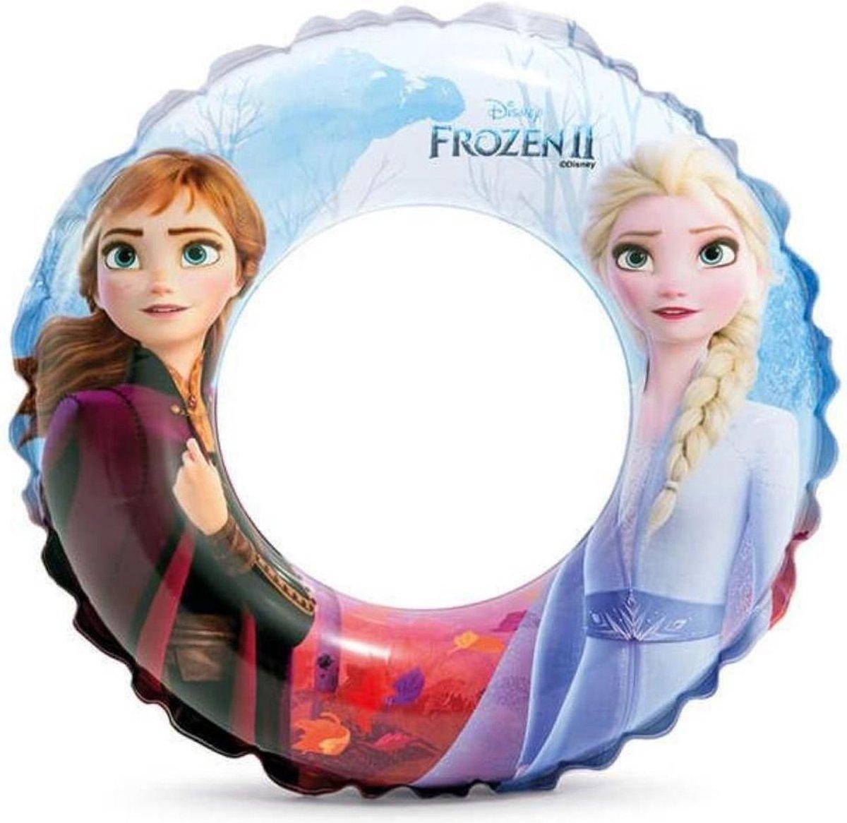 Intex Zwemband Frozen - Kinderen - 51cm - Met Veiligheidsventiel