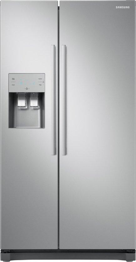 Samsung RS50N3503SA - Amerikaanse koelkast - Zilver
