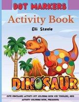 Dinosaur Dot Marker Coloring Book