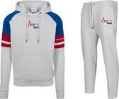 FitProWear Heren  Joggingpak Dutch - Maat XL - Joggingpak heren - Huispak - Trainingspak - Joggingbroek - 3/4 broek - Driekwart broek - Trainingsbroek - Crop Pant - Jogpant - Sportbroek - Sportpak