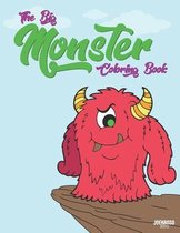 The Big Monster Coloring Book