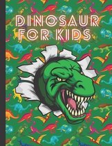 Dinosaur for Kids: dinosaur coloring book for kids ages 4-8 - Great Gift for Boys & Girls, Ages 4-8 - dinosaur coloring book for kids