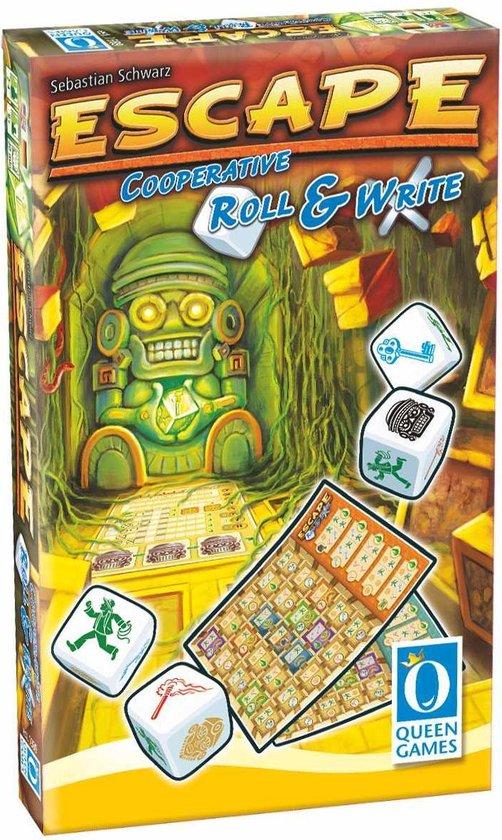 Afbeelding van het spel Escape Roll & Write - Queen Games