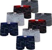 Jongens ondergoed 5973 – Katoenen boxershort voor kinderen - Onderbroek 8 PACK 152/158
