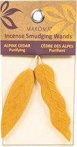 Maroma Smudge Wierookblaadjes Cederhout (25 gram)