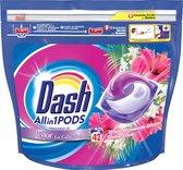Dash All in 1 Wasmiddel Pods Wilde Bloeiende Bloem - 2x42 Wasbeurten - Voordeelverpakking