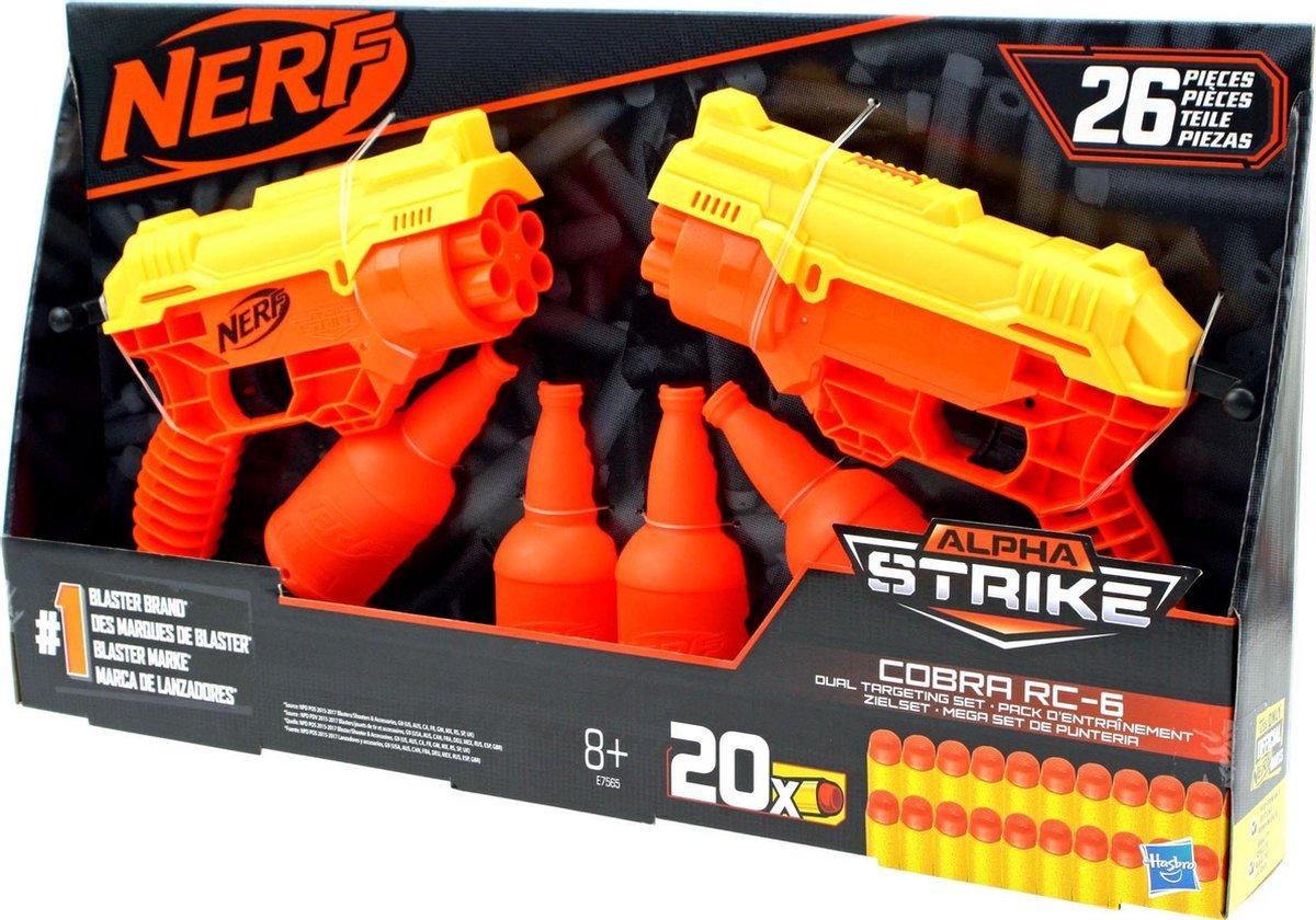 Nerf Alpha strike corba RC-6 dual targeting set