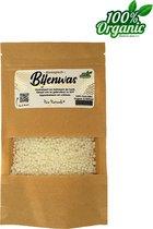 Bijenwas wit 100 gram - Biologisch - Geraffineerd - Korrels - Pure Naturals