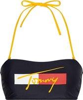 Tommy Hilfiger bandeau Desert sky - donkerblauw/geel