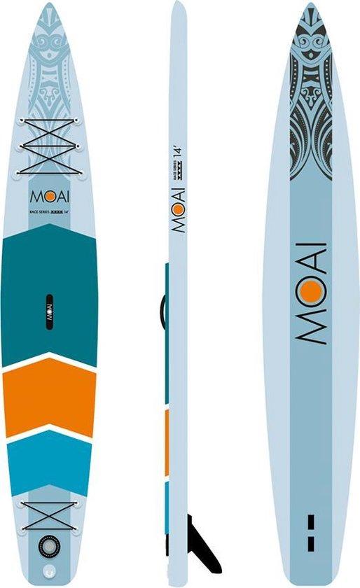 MOAI SUP board 14' PAKKET race