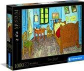 Clementoni Legpuzzel - Musea Puzzel Collectie - Van Gogh, Chambre Arles - 1000 stukjes, puzzel volwassenen