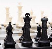 Opvouwbaar schaakbord - mini schaak bord – Schaakspel – met schaakstukken – Schaakspellen – Magnetisch - Draagbaar