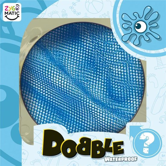 Dobble Waterproof - Kaartspel - Zygomatic