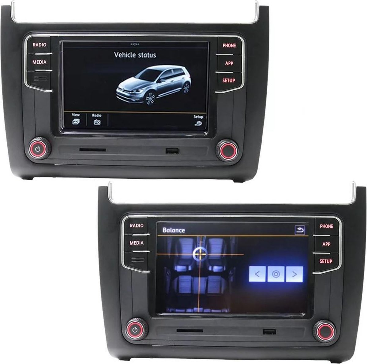 RCD360 CarPlay + Android Auto Volkswagen Polo 6c 2014-2018